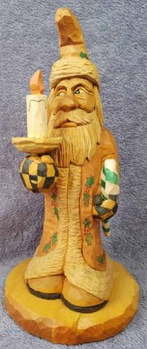 santa wood carving roughouts