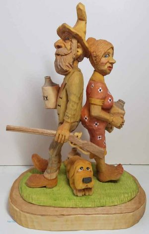 small wood carvings